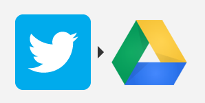 ifttt twitter to drive recipe